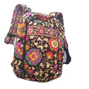 Vera Bradley Backpack Floral Campus Padded Laptop